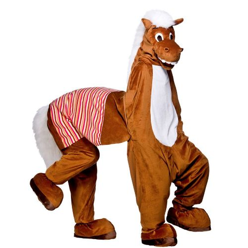 Adults Panto Horse (2 Man) Costume for Pantomime Stage theatre Play Fancy Dress